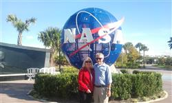 Cheryl & Bob in low orbit around Florida.