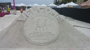 The Championship Sand Sculpting Contest on Ft. Myers Beach November 20-29.